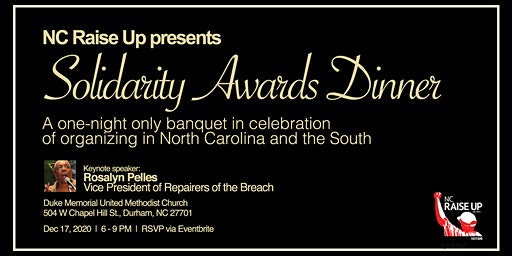 1st Annual Solidarity Awards Dinner