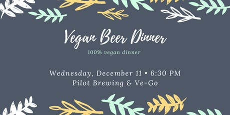 Vegan Beer Dinner tickets
