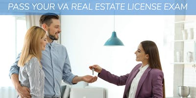 Get your VA Real Estate License!
