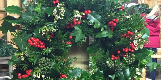 Christmas Wreath Workshop - near Bromley, Kent