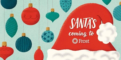 Santa's Coming to Frost Bank Windcrest Financial Center