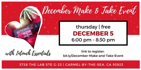 December Make and Take Event tickets