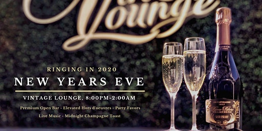 New Years Eve at Vintage Lounge