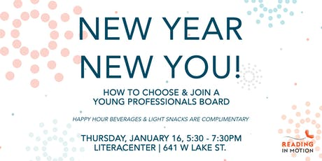New Year, New You! How to Choose & Join a Young Professionals Board tickets