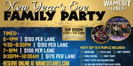 New Year's Eve Family Party tickets
