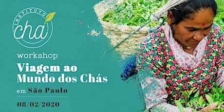 Workshop Viagem ao Mundo dos Chás - São Paulo ingressos