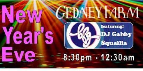 New Year's Eve at Gedney Farm: featuring DJ BFG! tickets
