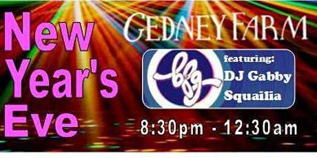 New Year's Eve at Gedney Farm: featuring DJ BFG! tickets