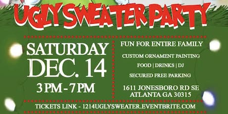 UGLY CHRISTMAS SWEATER PAINT PARTY tickets