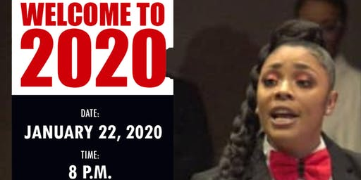 """Sol-Poetry """"Welcome to 2020"""" Poetry Event (Courtney Lynn)"""