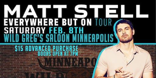 Matt Stell live at Wild Greg's Saloon
