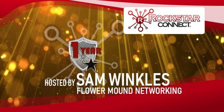 Free Flower Mound Rockstar Connect Networking Event (January, near Dallas) tickets