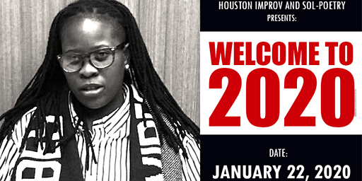 """Sol-Poetry """"Welcome to 2020"""" Poetry Event (Ebony Rose)"""