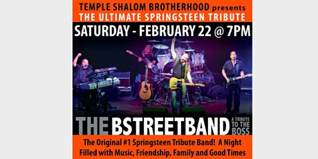 TSB BStreet Band 2020 tickets