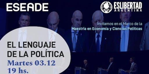 Conferencia: El lenguaje de la Politica
