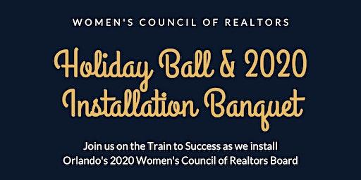 Women's Council of Realtors Holiday Ball & 2020 Installation Banquet