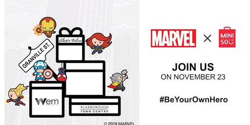 Marvel x MINISO MINIHEROES Collection Launch