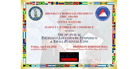 16th Annual Toussaint Louverture Symposium & Small Business Expo tickets