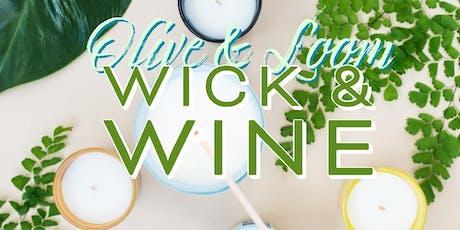 Wick & Wine Workshop tickets