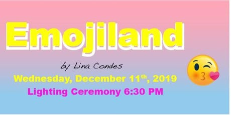 """Emojiland"" Queens Crossing 2019 Christmas Lighting & Party tickets"