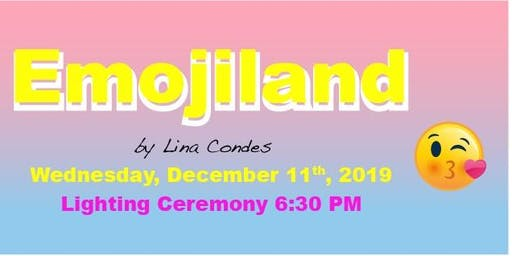 """Emojiland"" Queens Crossing 2019 Christmas Lighting & Party"