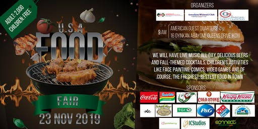 2019 USA Food Fair