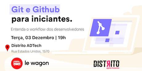 Git e Github para Iniciantes tickets