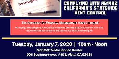 Property Management - Complying With California's Rent Control
