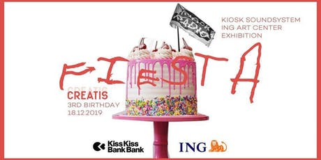 Creatis Brussels -3rd bday party- Kiosk Soundsystem tickets