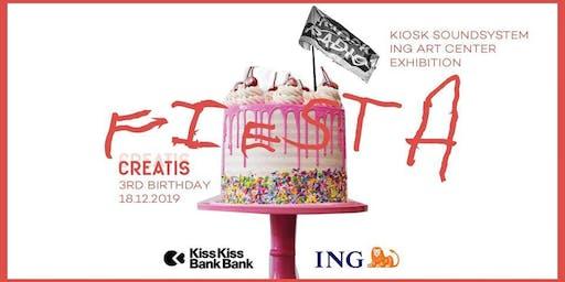 Creatis Brussels -3rd bday party- Kiosk Soundsystem
