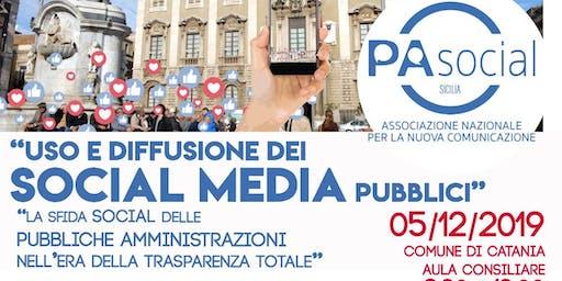 Uso e diffusione dei social media pubblici. La sfida social delle PA ...
