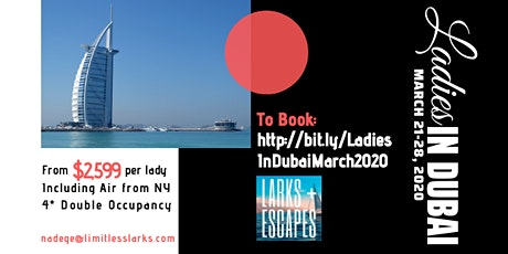 Ladies In Dubai - Small Group Journey tickets