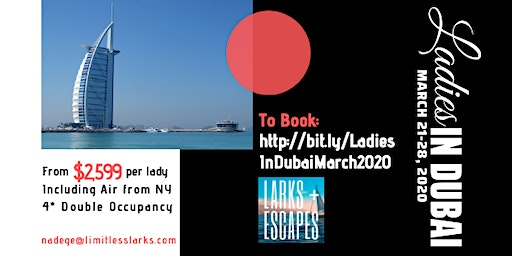 Ladies In Dubai - Small Group Journey