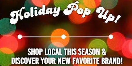 Holiday Pop Up Market Sip N Shop tickets