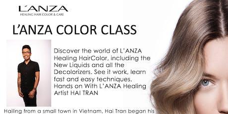 L'ANZA Color Class with Healing Artist Hai Tran tickets