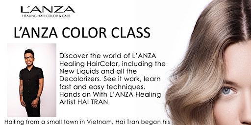 L'ANZA Color Class with Healing Artist Hai Tran