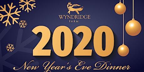 2020 Wyndridge Farm New Year's Eve Dinner tickets