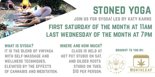 Stoned Yoga- CLASS CANCELED