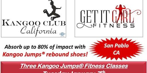 Kangoo Dance Fitness Class in San Pablo California