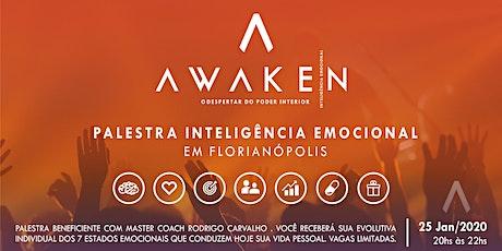 AWAKEN - Palestra Inteligência Emocional - FLORIANÓPOLIS ingressos