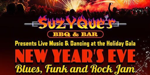 SuzyQues' New Year's Eve Party with Andy Lackow & Mess Around