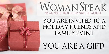 WomanSpeak Holiday Party/Fundraiser for Truth Be Told! tickets