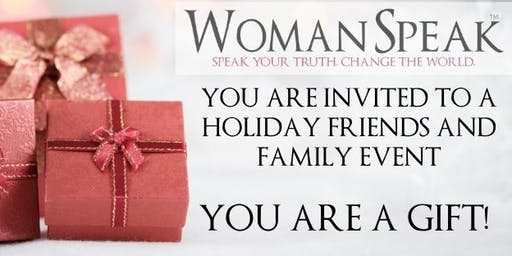 WomanSpeak Holiday Party/Fundraiser for Truth Be Told!
