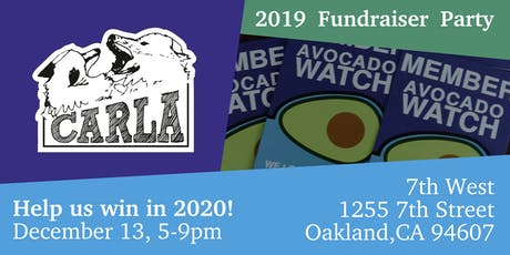 CaRLA's 2019 Annual Fundraiser Party tickets