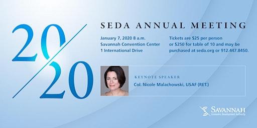 2020 Savannah Economic Development Authority Annual Meeting