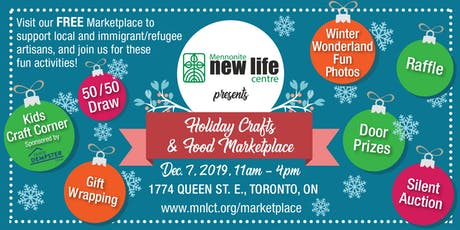 Holiday Crafts & Food Marketplace 2019, supporting immigrants & refugees tickets
