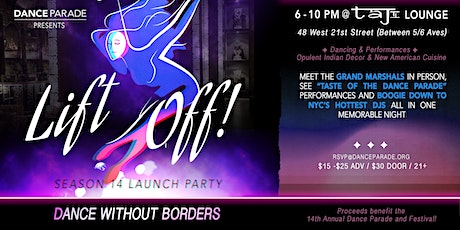 LIFT OFF! Dance Parade's Season 14 Launch: DANCE WITHOUT BORDERS! tickets