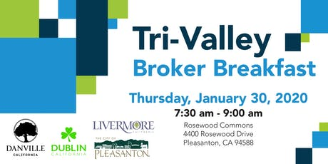 Tri-Valley Broker Breakfast tickets