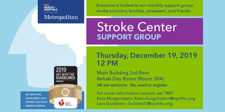 Stroke Center Support Group at Metropolitan tickets