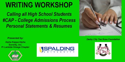 College Admissions Writing Workshop